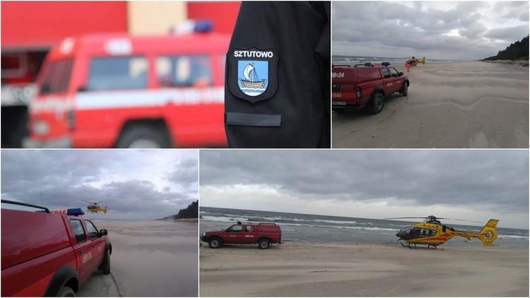 Przebrno. 52-letni mężczyzna zmarł na plaży - 21.02.2017