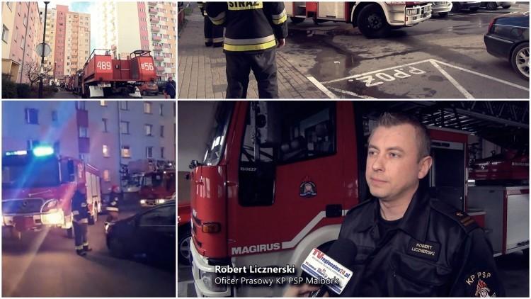 Malborscy strażacy apelują: nie parkujmy na kopertach. Minuty, a nawet…
