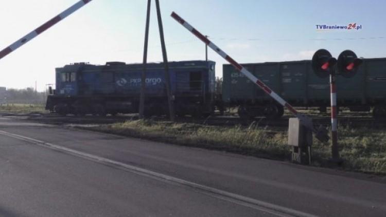Ostrzelano lokomotywę na przejeździe kolejowym w Braniewie! - 12.12.2017