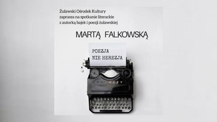 Zapraszamy na spotkanie literackie z Martą Falkowską w Nowym Dworze…