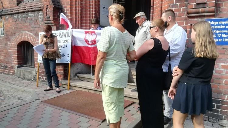 Malbork: Samotna walka Bogumiły Skóry z korupcją w sądach i prokuraturze