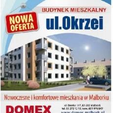 DOMEX Mieszkania - Tworzymy przestrzeń Twoich marzeń! - +48 55 272-12-13