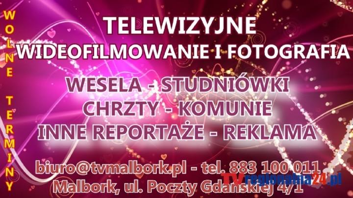 ŚLUBY - WESELA - NAGRYWANIE - 883 100 011