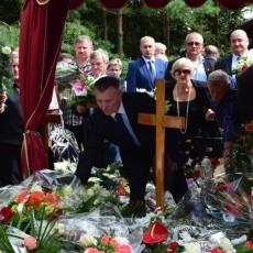 Pogrzeb Wójta Stanisława Kochanowskiego. Ostatnie pożegnanie. Sztutowo.…