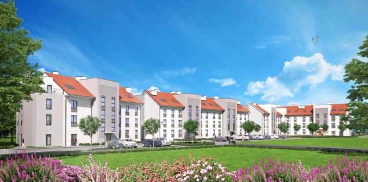 Wizualizacje Osiedla SADY przy ul. Targowej w Malborku Tak będą wyglądały budynki wybudowane przez Iławskie Przedsiębiorstwo Budowlane - nowego dewelopera na rynku malborskim