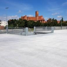 Malbork. Budowa parkingu wielopoziomowego przy ul. Sierakowskich. Zobacz…