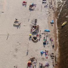 Kąty Rybackie 2020. Projekt plaża z powietrza