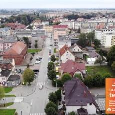 Światłowody na Dworcowej. Zobacz Nowy Dwór Gdański z lotu ptaka