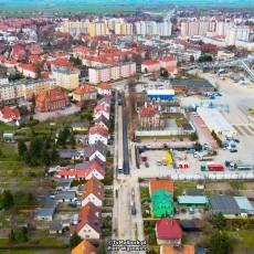 Malbork. Remont ulicy Chrobrego. Drogowcy kładą asfalt - 14.04.2021