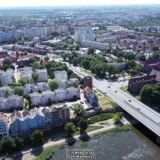 Budowa kamienic na Starym Mieście w Malborku. Zobacz postęp prac z lotu…