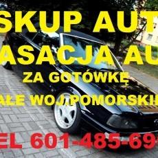 Skup Aut Dzierzgoń t.601485696 złomowanie kasacja Sztum,Mikołajki Pomorskie,Kwidzyn,Malbork