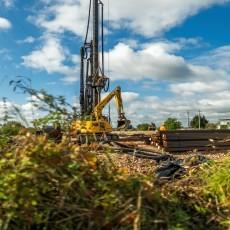 Prace przy drugiej części budowy drogi wodnej łączącej Zalew Wiślany…